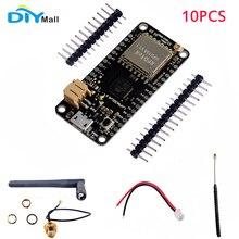 10pcs/lot LoRa32u4 II Development Board 868MHz 915MHz Lora Module IOT SX1276 HPD13 Wifi Transceiver Antenna JST Connector