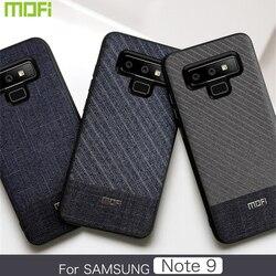 Do Samsung Galaxy Note 9 etui Mofi do Samsung Note 9 skrzynki pokrywa ciemny dżentelmen styl biznesowy miękkie etui Note9 etui