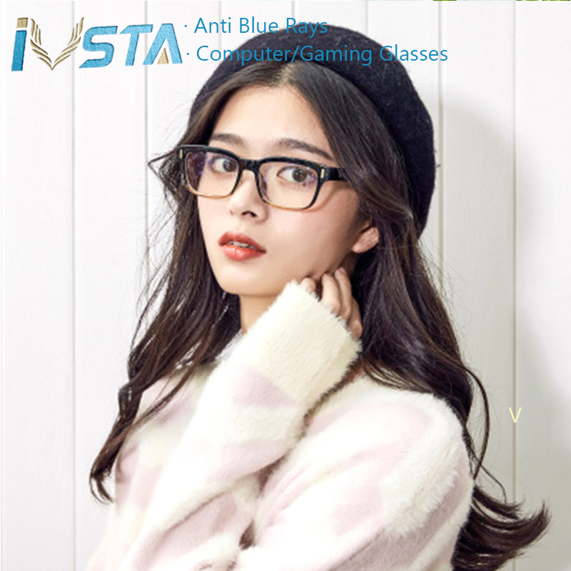 IVSTA dengan Kasus kartu uji cahaya Kacamata Komputer Kacamata Anti - Aksesori pakaian - Foto 6