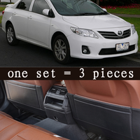 Leather Car Styling Accessories Kids Car Seat Back Protector Cover For Toyota Corolla Axio 2007 2008