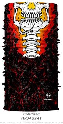 3D Череп Скелет бесшовная Бандана Балаклава головная повязка мотоциклетный головной убор Байкер волшебный платок труба Шея рыболовная вуаль маска для лица - Цвет: TA20