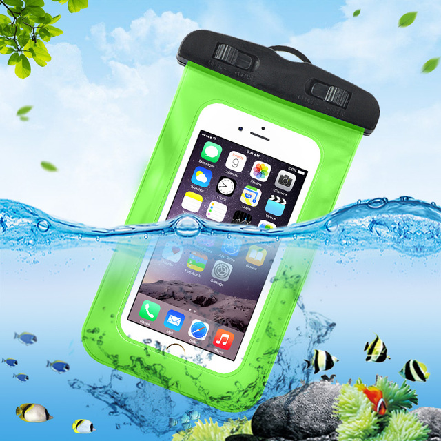 super popular d874d 9f746 US $1.79 10% OFF|6 Inch Sports Swimming Bag For Xiaomi Redmi Note 5 Case  Waterproof Phone Pouch For Redmi 5 5 Plus Cover For Huawei P20 Lite Case-in  ...