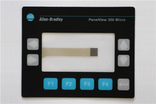 ALLEN BRADLEY 2711-M3A PANELVIEW 300 KEYPAD REPLACEMENT MEMBRANE 2711-M3A OVERLAY, HAVE IN STOCK