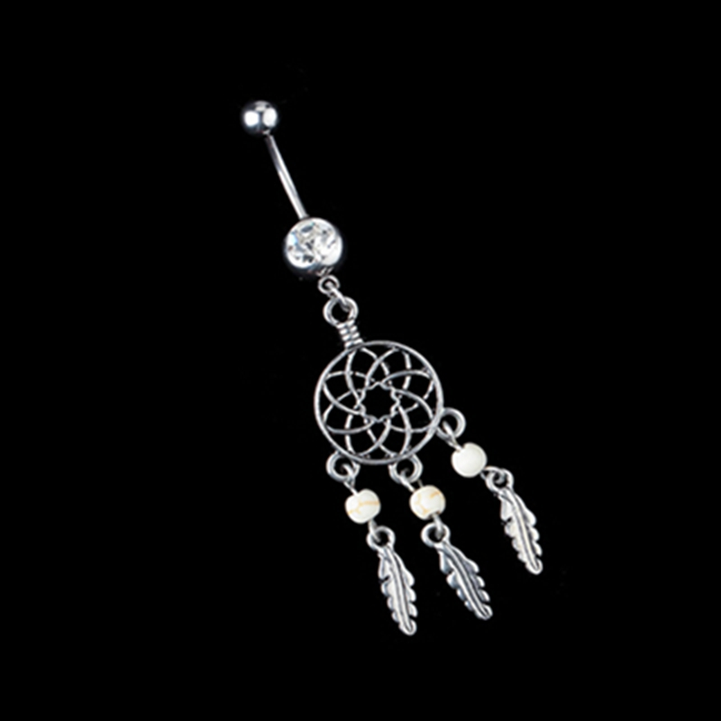 New Belly Button Rings Piercing Ball Body Jewelry Fashion -9860