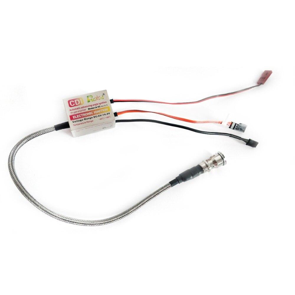Rcexl Single ignition pour NGK-CM-6-10MM droite 4.8 V ~ 8.4 V haute tension