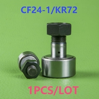 1PCS/LOT CF24 1/KR72 CAM followers Wheel and pin bearing series Track Rollers Stud type track rollers for cnc router