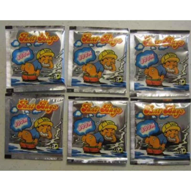 1 x gadżet śmierdzący pakiet fart bomby torba prima aprilis halloween dowcip bromas smród torba śmieszne gadżety zabawki