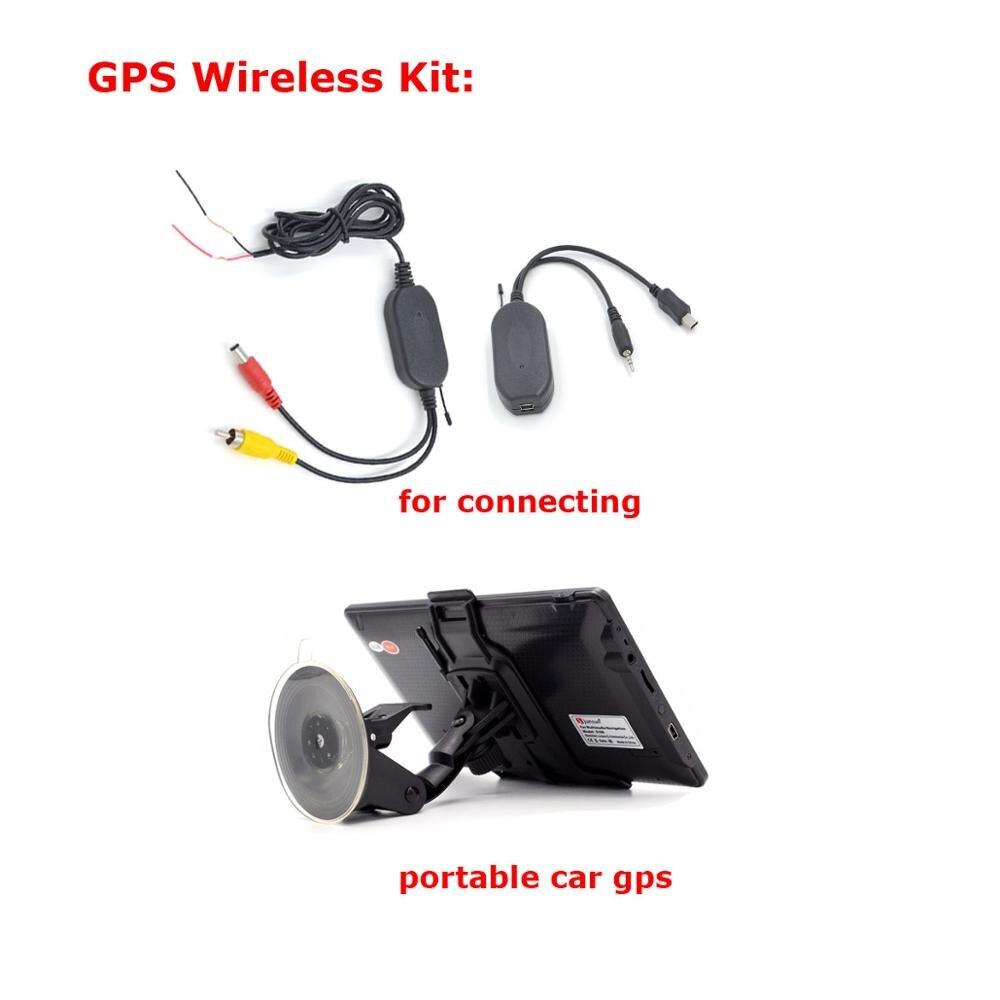 HD Беспроводная Автомобильная камера для hyundai Verna Solaris Sedan/KIA FORTE водонепроницаемая - Название цвета: wireless cam for gps