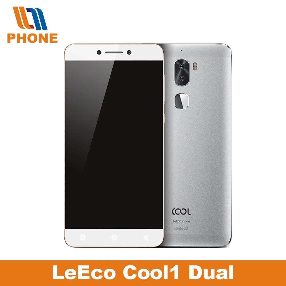 "bilder für Ursprüngliche Letv Cool1 Dual Prime Leeco Coolpad Kühle 1 Snapdragon 652 Handy 4 GB RAM 3 GB RAM 32 GB 5,5 ""FHD 13MP Dual Kameras"