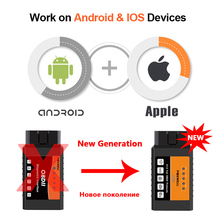 FW601 Universal OBD2 WIFI ELM327 V 1.5 Scanner for iPhone IOS Auto OBDII Scan Tool OBD 2 ODB II ELM 327 V1.5 WI-FI ODB2