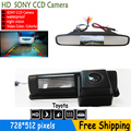 """Car Parking Kit With 4.3""""Foldable Color TFT LCD Car Camera Monitor+CCD Camera for Toyota HARRIER ALTEZZA PICNIC ECHO VERSO CAMRY"""