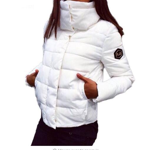 2018 New Autumn Winter jacket Women Coat Fashion Female Down jacket Women   Parkas   Casual Jackets Inverno   Parka   Wadded Plus Size