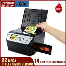 22 Mega Pixels 4 in 1 Photo and Film Scanner 135 Negative Business Card COMBO