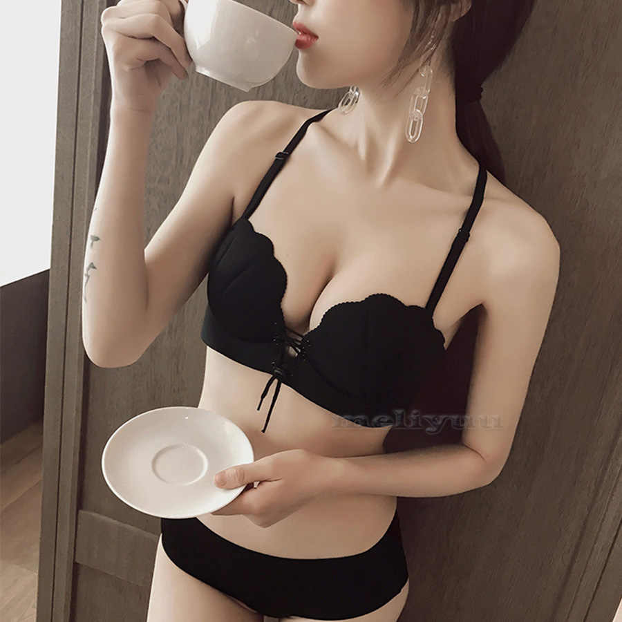 ea52d95d0f Style Sexy Push Up Bra Invisible Strapless Bras Shell Gather Straps Underwear  Women Padded Bralette Lingerie