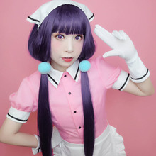 Sakuranomiya Maika cosplay costumes Japanese anime  Blend S pink Maid outfit  Halloween costumes Spot supply frommer s® japanese phrasefinder
