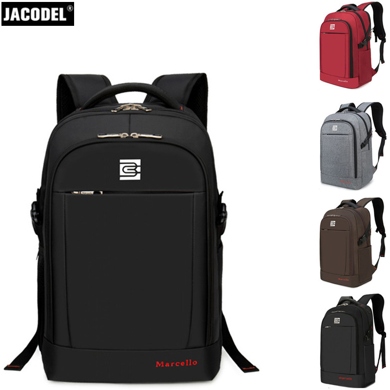 все цены на Jacodel New Laptop Backpack for Laptop 14 15 15.6 inch Notebook Bag Case 15 Computer Case Backpack for School for Teenagers Bags онлайн