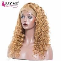 Глубокая волна Синтетические волосы на кружеве парик бесклеевого Синтетические волосы на кружеве натуральные волосы парики предварительн