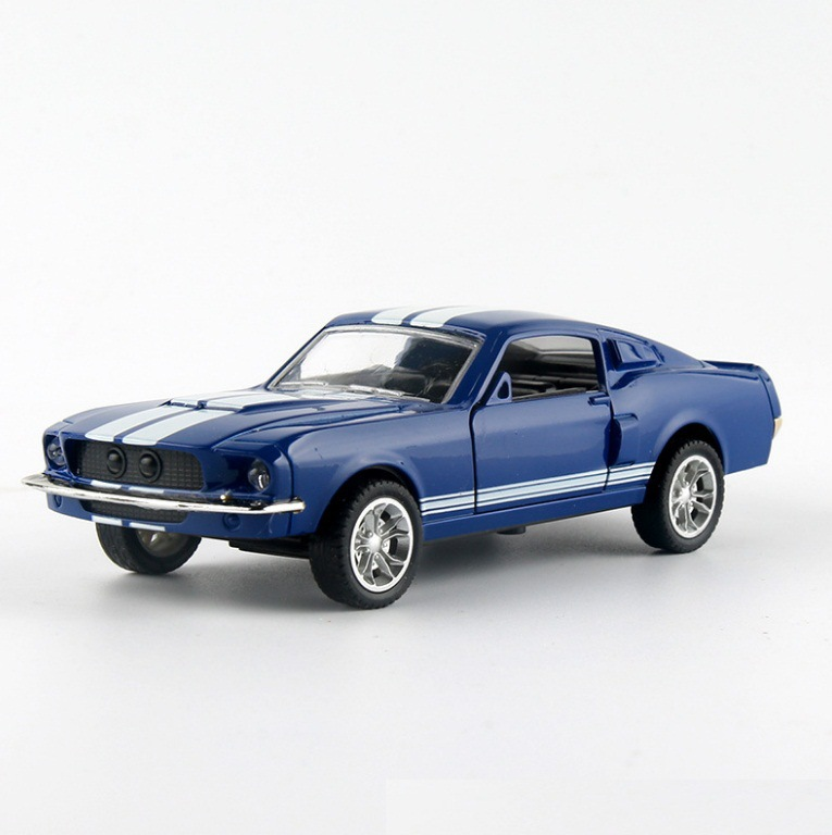 Ford Mustang GT 1967 GT500 Toy Car 13x5x35cm 4