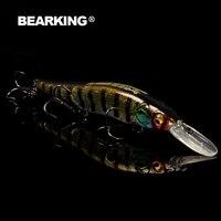 Retail 2016 Good Fishing Lures Minnow Quality Professional Baits 11cm 14g Bearking Hot Model Crankbaits Penceil