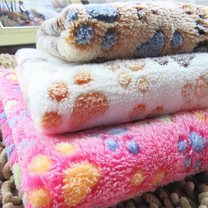 1pcs Warm Winter Pet Sleeping Kennel Mat Thermal Blanket Dog Quilt
