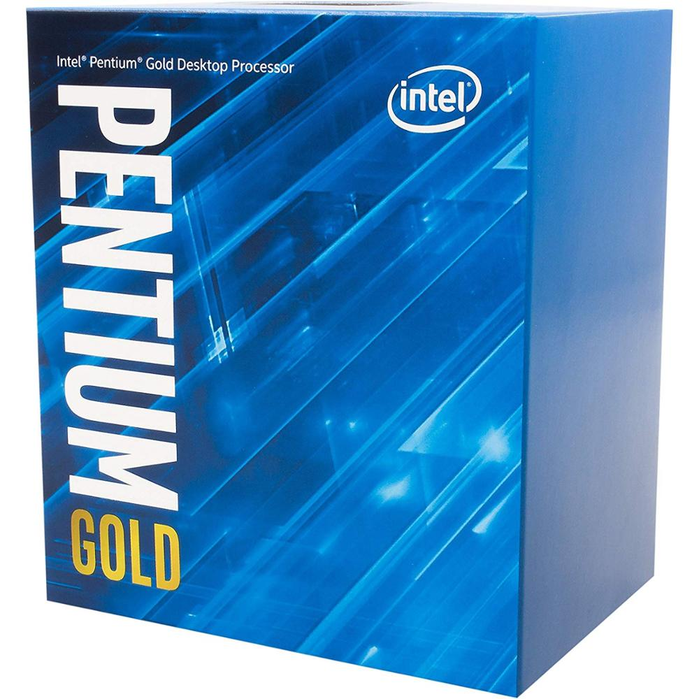Intel Desktop-Processor LGA1151 G5400 2-Core Gold 300-Series 54W/58W