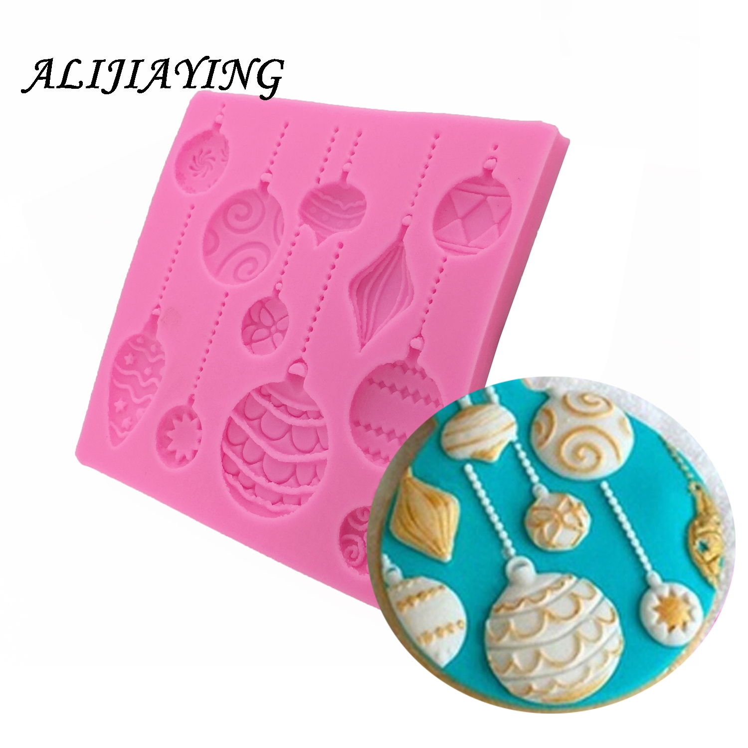 Polymer Clay Mold Hot Air Balloon Silicone Mold Fondant Moulds Silicone mould festival Cake decorating tools D0740