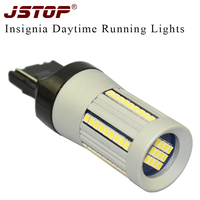 JSTOP Insignia High Quality Led Daytime Running Lamp W21W 7440 12 24VAC 6000K Canbus Day Lights