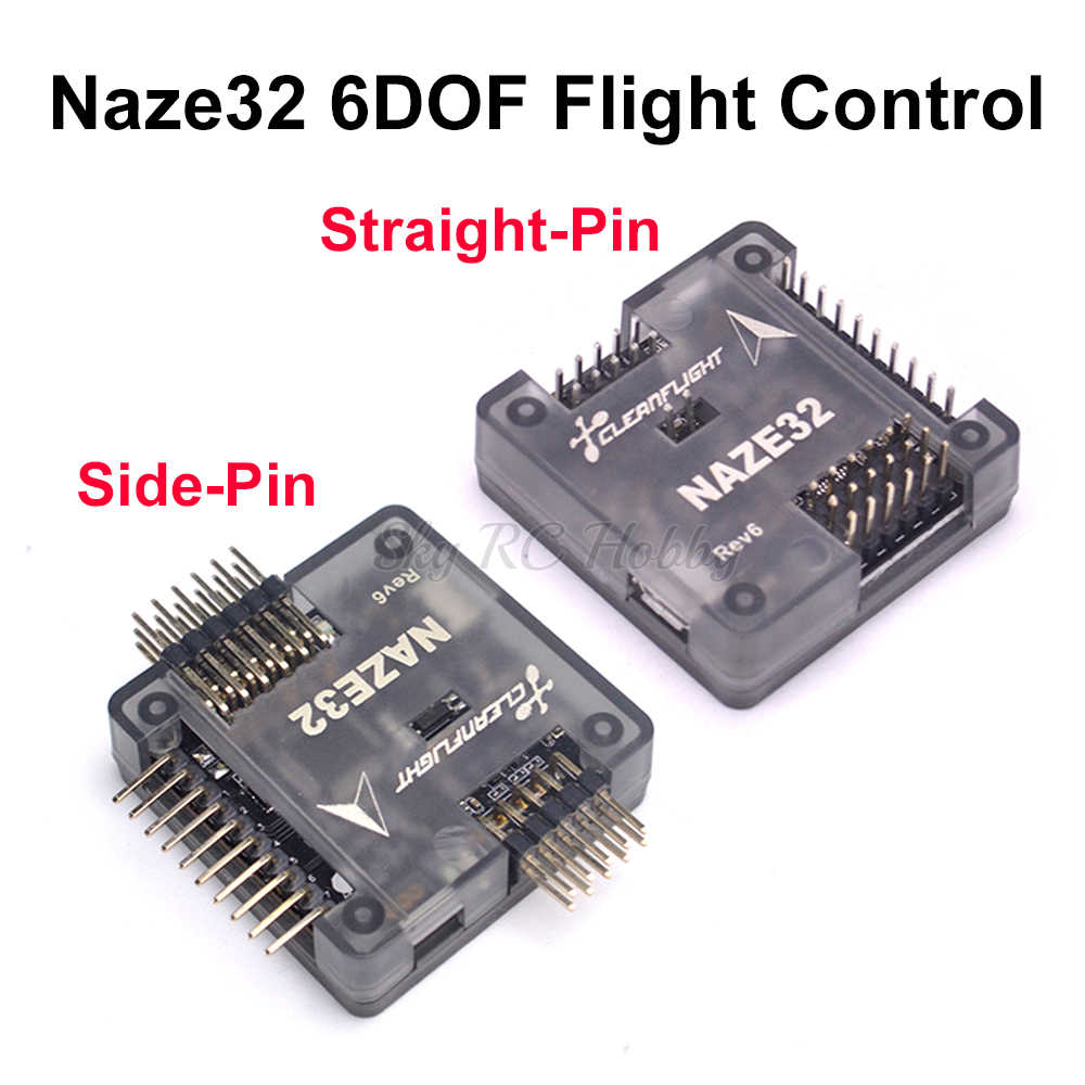 Naze32 Naze 32 Rev6 6DOF met gesoldeerd pin Flight Controller board met shell Voor FPV 250 220 QAV-X 214mm FPV RC Racing Drone