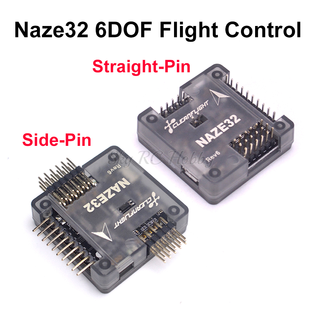 Naze32 Naze 32 Rev6 6DOF With Soldered Pin Flight Controller Board With Shell For FPV 250 220 QAV-X 214mm FPV RC Racing Drone