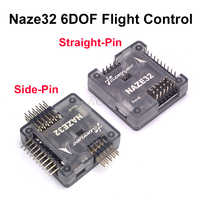 Naze32 Naze 32 Rev6 6DOF avec carte de contrôleur de vol à broche soudée avec coque pour FPV 250 220 QAV-X 214mm FPV RC Drone de course