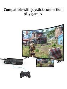 Image 2 - , Convertisseur adaptateur Bluetooth, clavier de jeu, souris de jeu, 4k 60Hz, prise et jeu, PC même écran