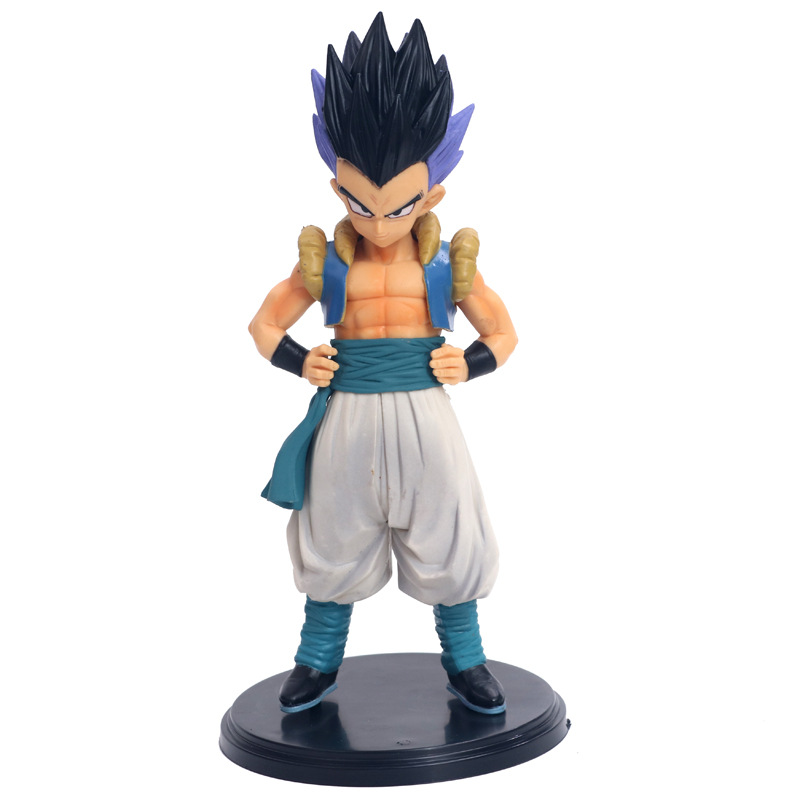 Anime Dragon Ball Z Master Stars Piece The Gotenks Figure Model Collection Toys 19cm for children