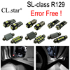 16pc X Error Free LED Interior Dome Light Lamp Kit Package For Mercedes Benz SL Class