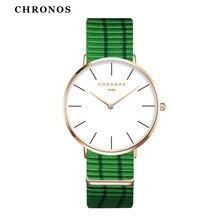 Дропшиппинг kobiet zegarka Лидер продаж ультра-тонкий молодежная мода красочные, женские часы мужские нейлон тканые ремешок пару наручных часов