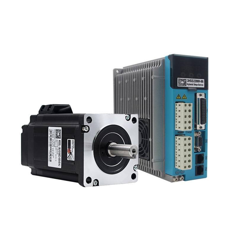 NEMA 34 3 Phase8 NM Closed Loop Stepper Servo Motor Driver Kit for CNC Cutting Machine Engraving Machine