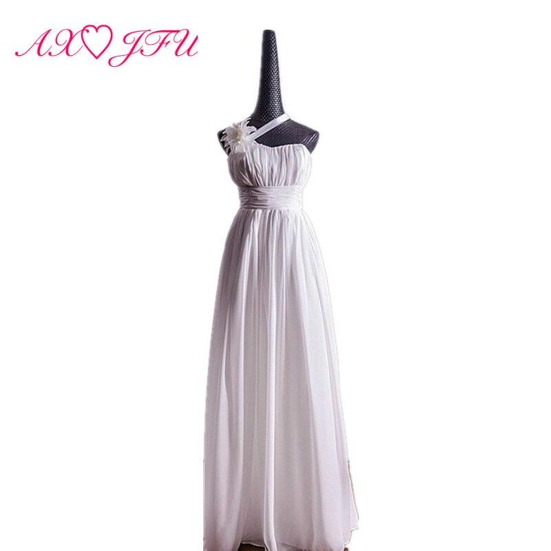 AXJFU vintage grande fleur robe de soirée courte traînée senior plage fleur robe de soirée robes 100% vraies photos