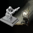 Classic Knight Pen Holder with a Stainless Steel Pen Creative Pen Holder as Birthday Gift Business Gift