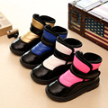 Child Winter Shoes For Girls Snow Boots Kids Boys Fashion Velvet Warm Shoes Baby Thickening Waterproof Cotton-Padded Shoes