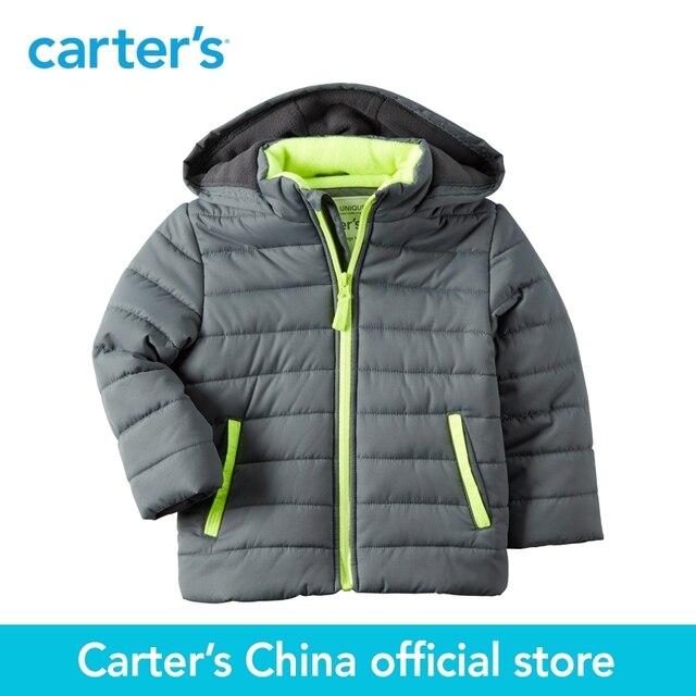 8fef17877 Carter's 1pcs baby children kids Fleece-Lined Puffer Jacket fall winter 100%  polyester sherpa