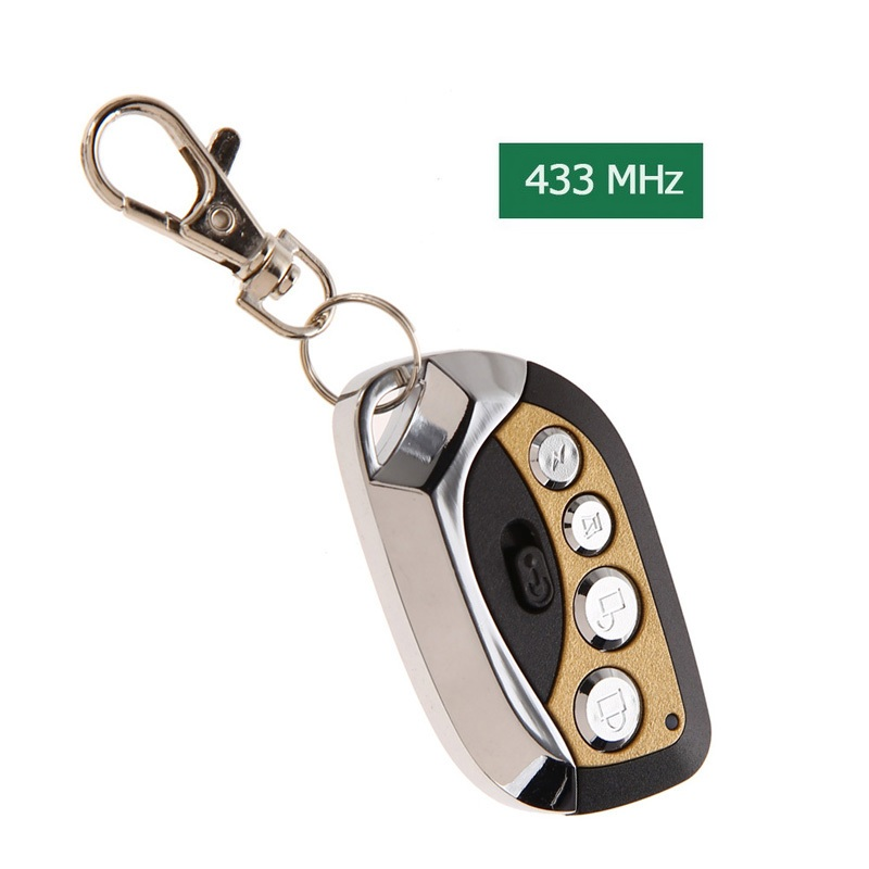 Easy Control AK-RD095 433MHz Smart Controle Remoto Practical 12V Self Learning Fixed Code Copy Remote Control L3EF