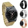 Correa de reloj de acero inoxidable FOHUAS para Samsung gear s3 correa de reloj inteligente correa de enlace pulsera de eslabones correa de reloj para iWatch