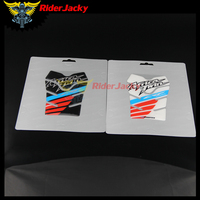 RiderJacky For HONDA Africa Twin CRF1000L Motorcycle Tank Pad Cas Cap Carbon 3D ADESIVI Sticker Decal Emblem Protection