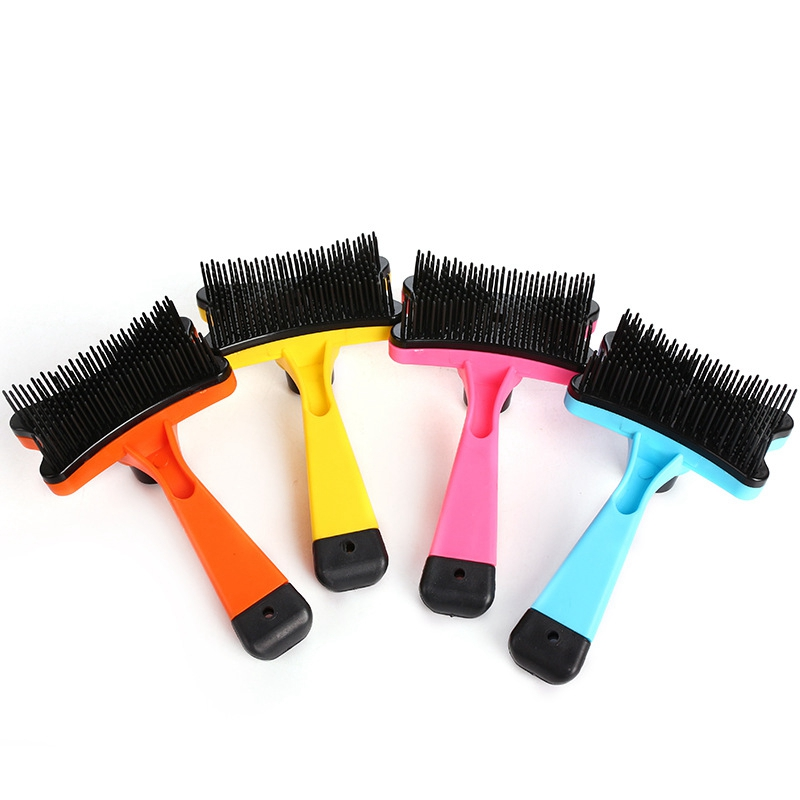 Pet Hair Removal Brush Dog Accessories Cat Hair Grooming Slicker Brush Gilling Cleaning Tools Rasqueadeira Profissional Pet Comb