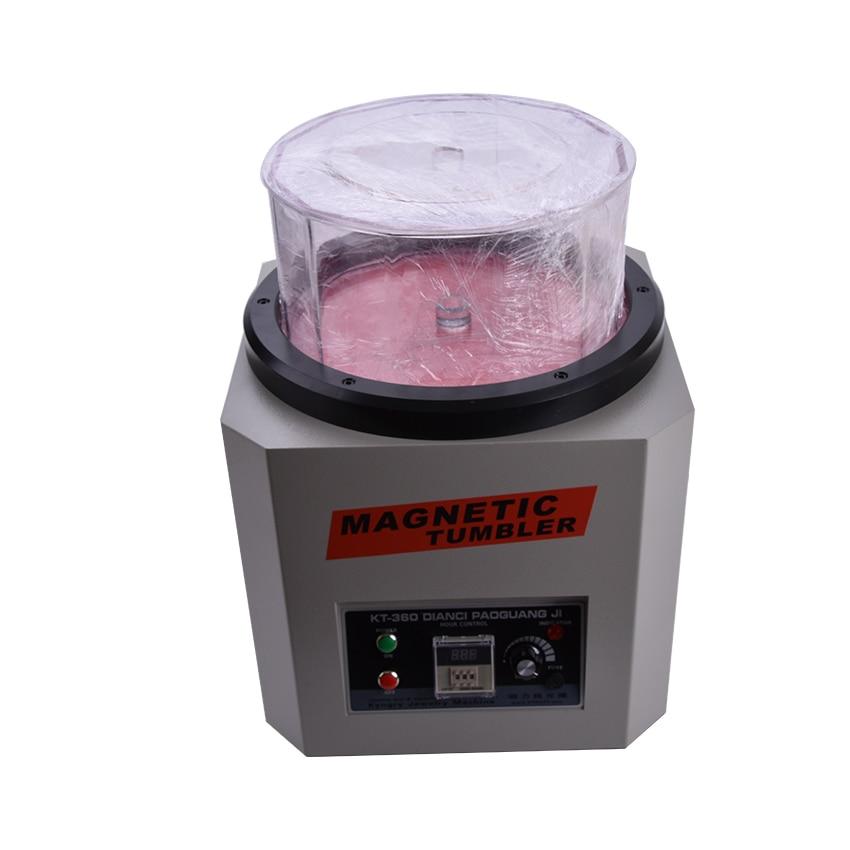 Reverzní magnetická sklenička KT-360A 110V / 220V klenotnické leštění zlatnické nástroje kapacita 1300g