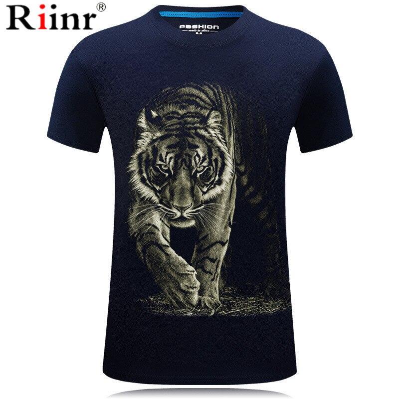 2019 New Tiger T-shirt Men's / Women's 3D Printing Comet Tiger Hip Hop Cartoon T-shirt Summer Jacket T-shirt Fashion 3D Shirt