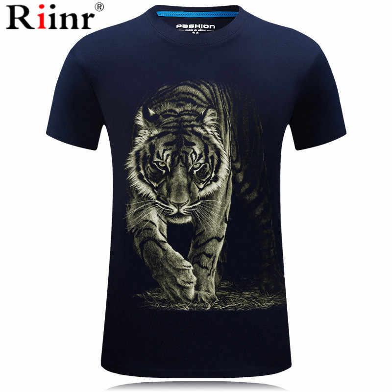 2019 nueva camiseta con diseño de tigre para hombre/mujer estampado 3D cometa Tigre Hip Hop camiseta de dibujos animados chaqueta de verano camiseta de moda camisa 3D