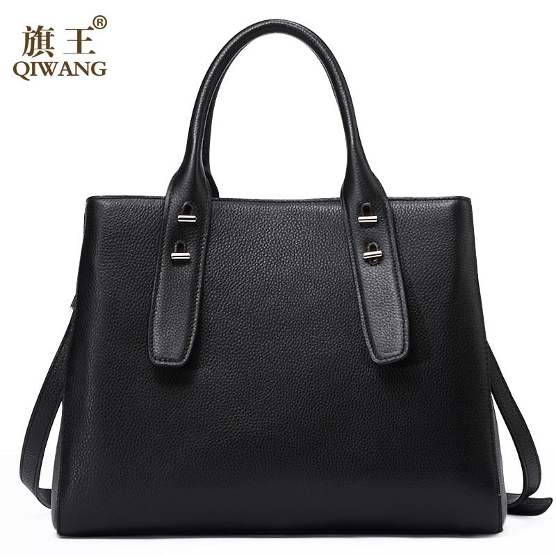 QIWANG Designer Genuine Leather Bags Melbourne Women Loved Handbags Elegant Simple Fashion Urban City Bag for Woman andy grammer melbourne