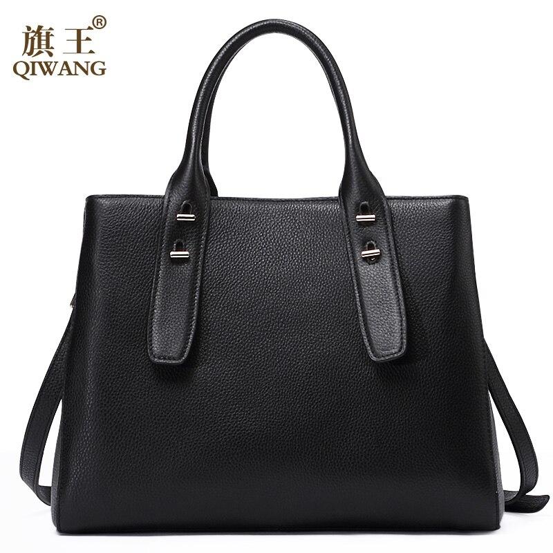 QIWANG Skirt Design Women Elegant Bags Melbourne Women Loved Handbags Real Leather Urban City Bag for Woman Luxury 2018 elegant a line round button midi skirt for women