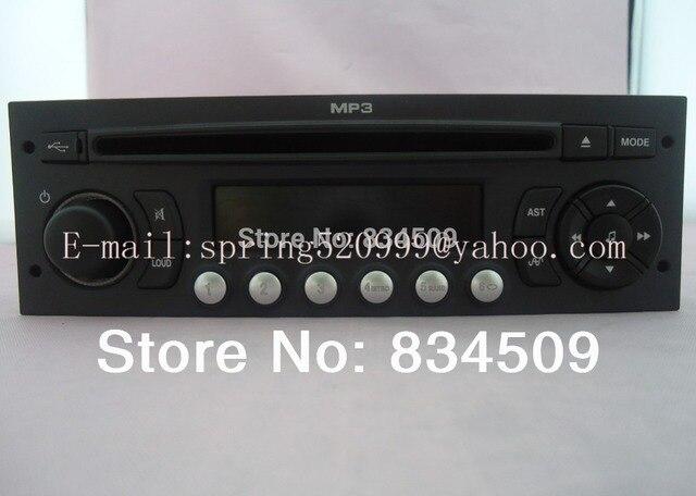 Original RD9 CD receptor para Peugeot 307 308 408 sintonizador de radio MP3 USB suena sistemas