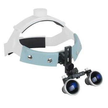 3.5X-R (320mm-420mm) Headband Binocular Loupes Glasses Magnifier Bullet Points